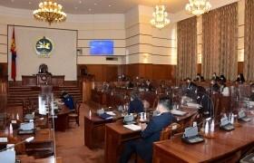Монгол Улсын Их Хурлын тухай хуульд нэмэлт оруулах тухай хуулийн төслийг хэлэлцлээ