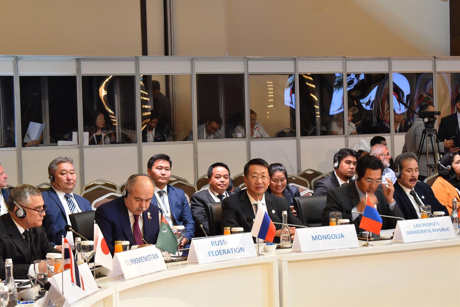 УИХ-ын дэд дарга Л.Энх-Амгалан Евразийн парламентын спикерүүдийн III чуулга уулзалтад оролцож байна