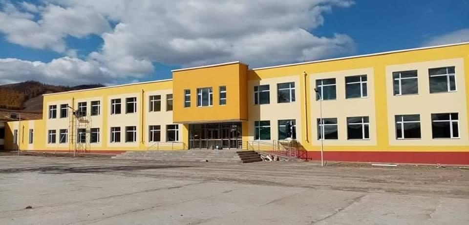 Рашаант сумын З20 хүүхдийн сургуулийн хичээлийн байр удахгүй ашиглалтад орно