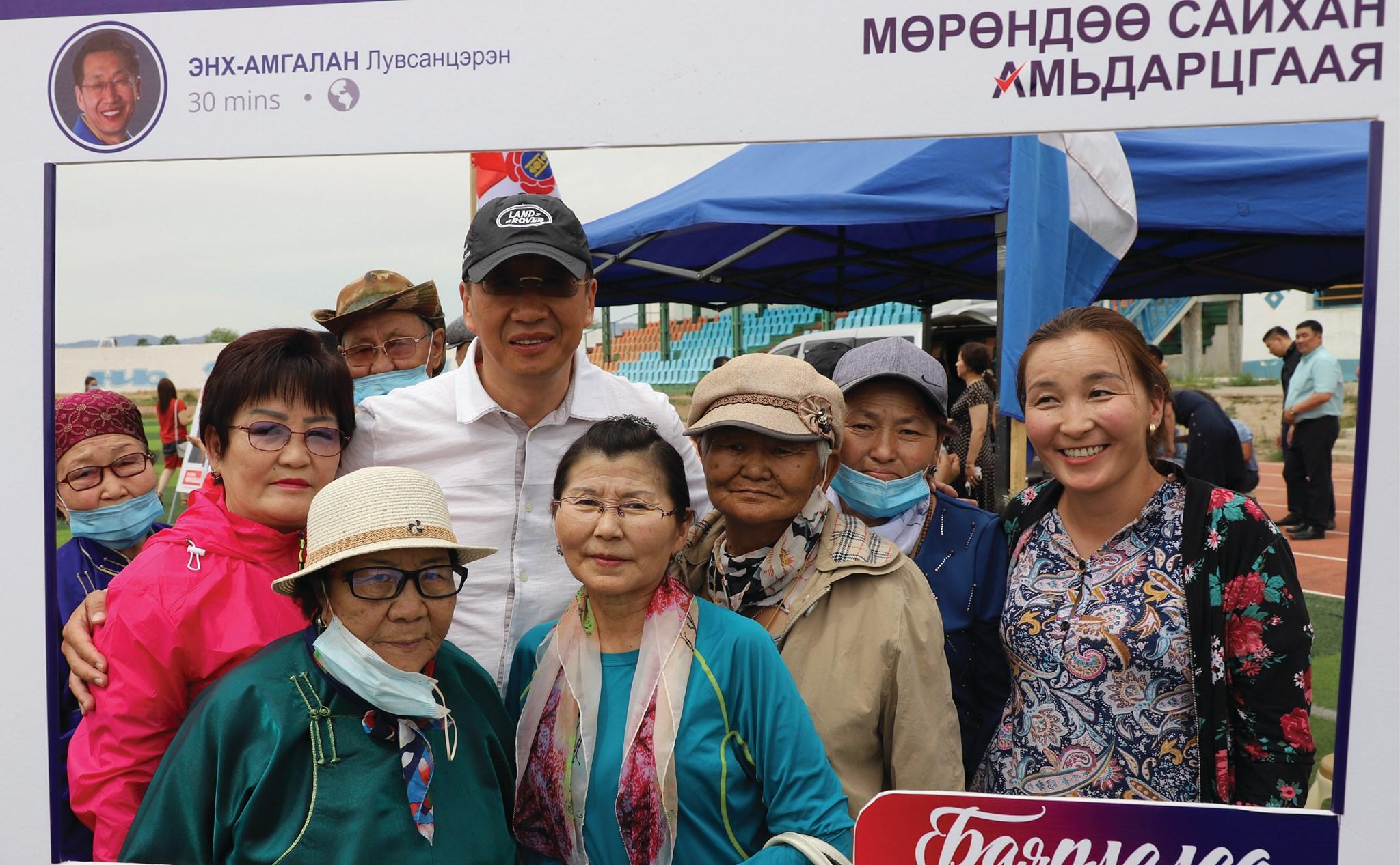Хөвсгөл аймгийн Мөрөн сумын иргэд сонгогчидтойгоо уулзлаа