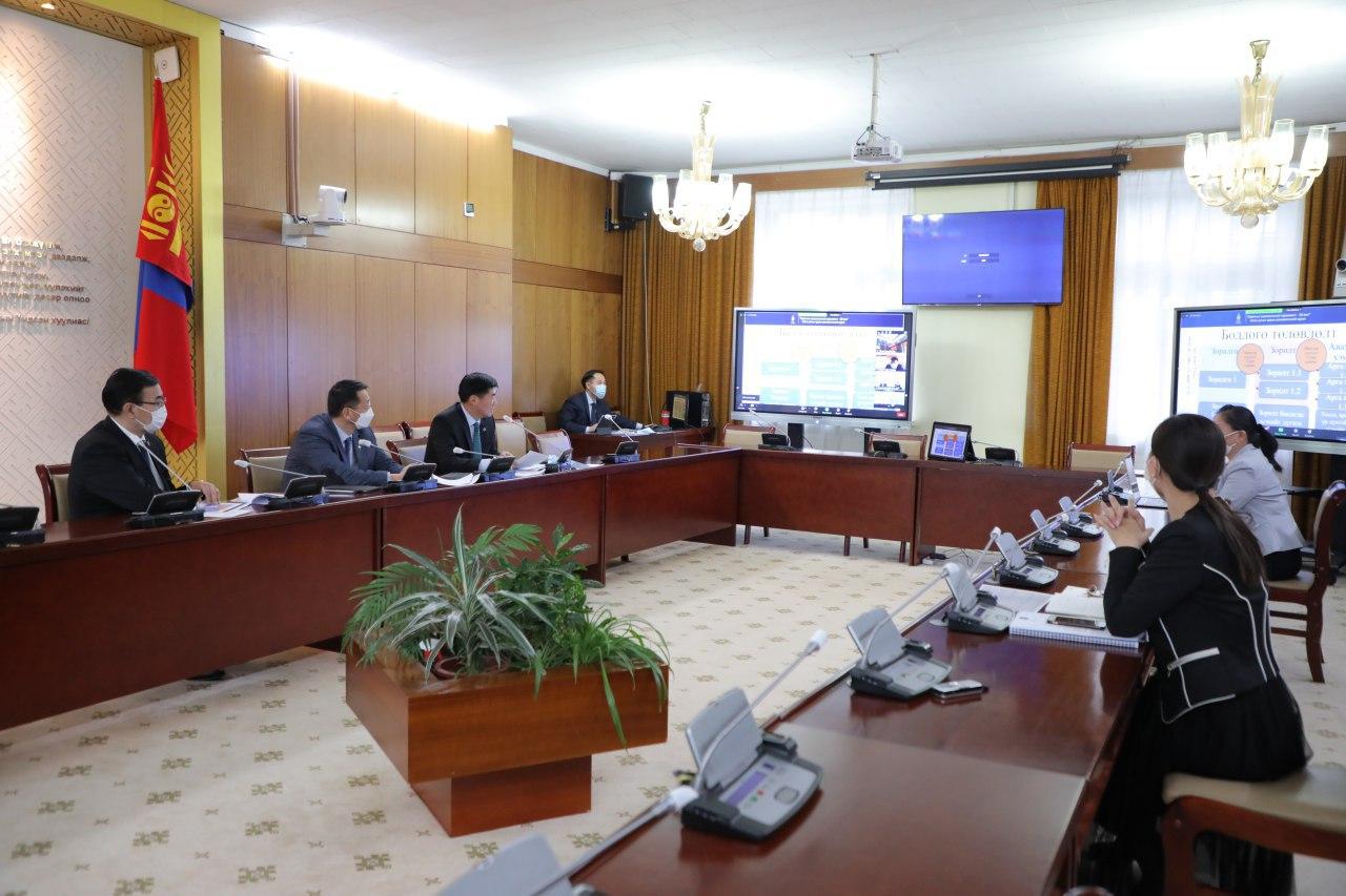 Хөгжлийн бодлого, төлөвлөлт, түүний удирдлагын тухай хуулийн хэрэгжилтийг хангуулах үүрэг бүхий Ажлын хэсгийн хурал боллоо